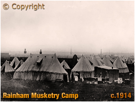 Rainham : Musketry Camp [c.1914]