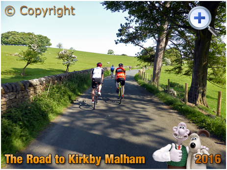 Road from Airton to Kirkby Malham in the Yorkshire Dales [2016]