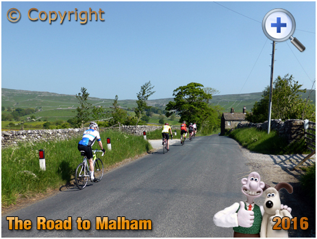Road to Malham in the Yorkshire Dales [2016]