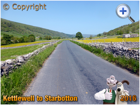 Road from Kettlewell to Starbotton at Upper Wharfedale in the Yorkshire Dales [2016]