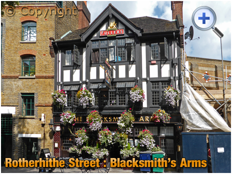 London : The Blacksmith's Arms at Rotherhithe