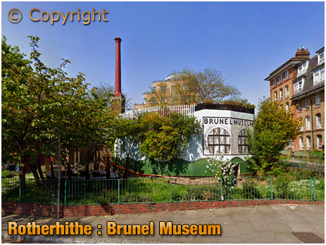 London : Brunel Museum at Rotherhithe