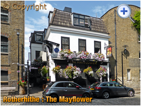London : The Mayflower at Rotherhithe