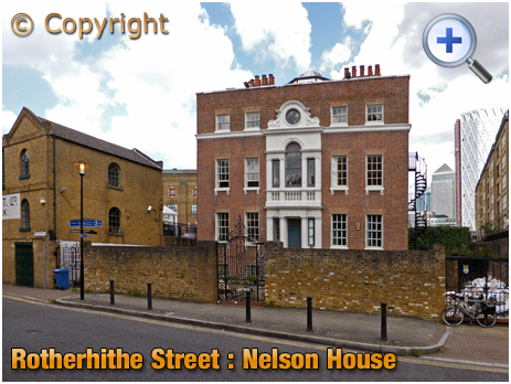 London : Nelson House at Rotherhithe