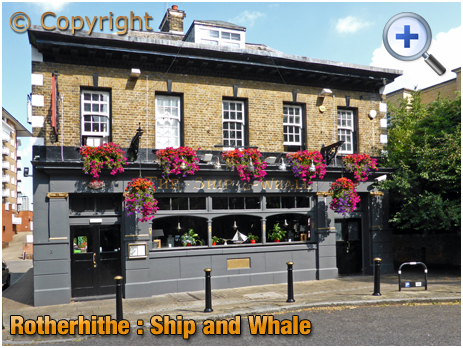 London : The Ship and Whale at Rotherhithe