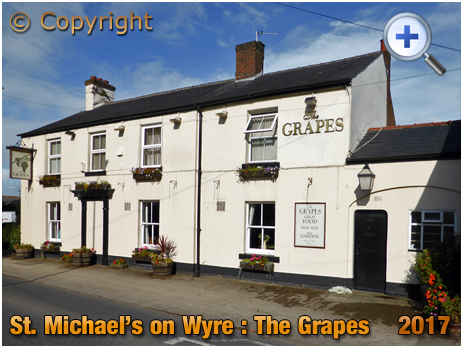 St. Michael's on Wyre : The Grapes [2017]