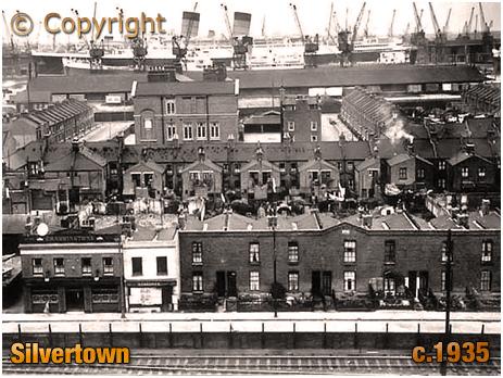 Silvertown : Albert Road [c.1935]