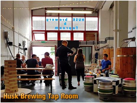 Silvertown : Husk Brewing Tap Room
