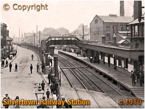 Silvertown Railway Station [c.1910]