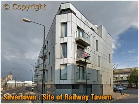 Silvertown : Site of Railway Tavern