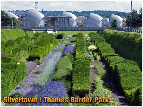 Silvertown : Thames Barrier Park