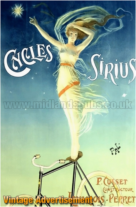 Advertisement for Sirius Cycles