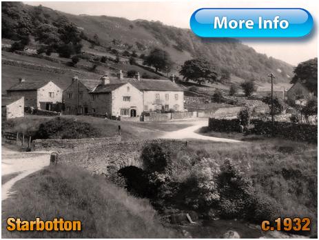 Yorkshire : Bridge over Cam Gill Beck at Starbotton [c.1932]