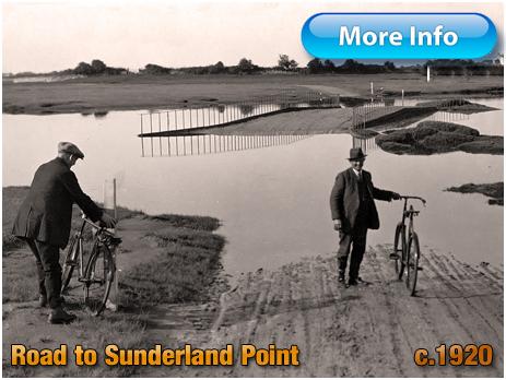 Tidal Road to Sunderland Point [c.1920]