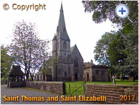 Thurnham : Church of Saint Thomas and Saint Elizabeth [2017]