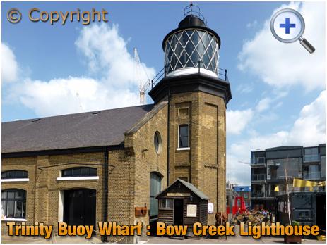 Trinity Buoy Wharf : Bow Creek Lighthouse