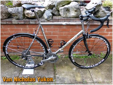 Van Nicholas Yukon Titanium Touring Bike
