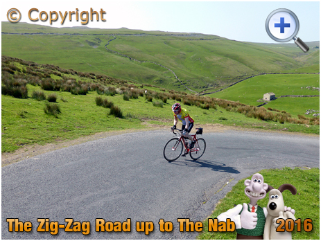 Cycle Climb from Darnbrook Beck to The Nab in the Yorkshire Dales [2016]