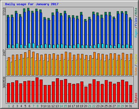 Website Statistics [January 2017]