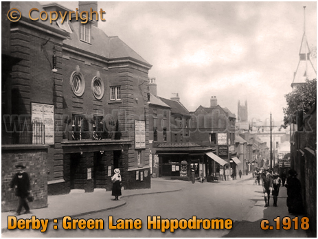 Derby : Green Lane and The Hippodrome [c.1918]