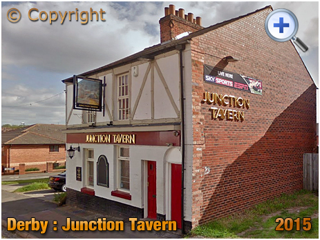 Derby : The Junction Tavern on Junction Street [2015]