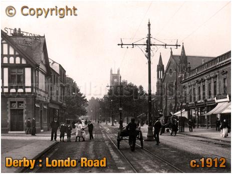 Derby : London Road [c.1912]