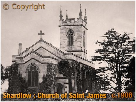 Shardlow : Church of Saint James [c.1908]