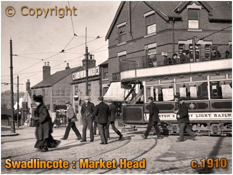 Swadlincote : Market Head [c.1910]