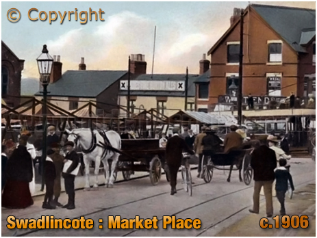 Swadlincote : Market Place [c.1906]
