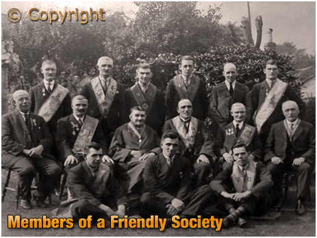 Meeting of a Friendly Society