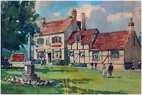 Mystery Atkinson's Pub Painting