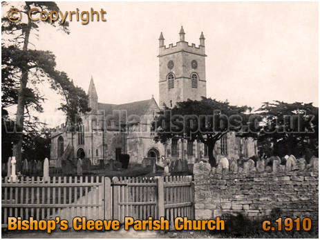 Bishop's Cleeve : Parish Church of Saint Michael and All Angels [c.1910]