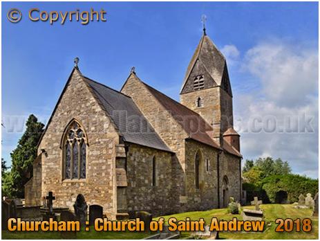 Churcham : Church of Saint Andrew [2018]