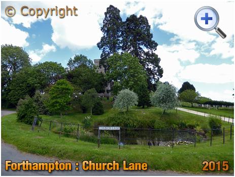 Forthampton : Church Lane [2015]