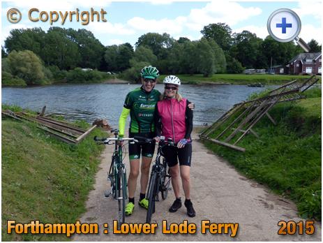 Forthampton : Lower Lode Ferry [2015]