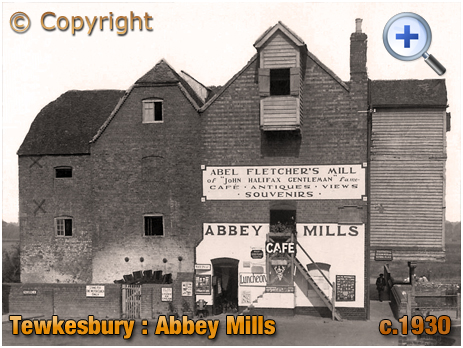 Tewkesbury : Abbey Mills and Café [c.1930]