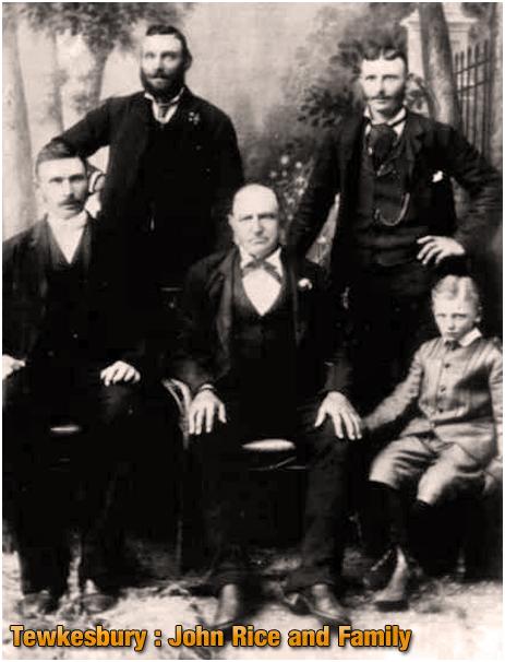 Tewkesbury : John Rice and Family