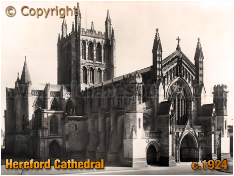 Hereford : Cathedral [c.1924]