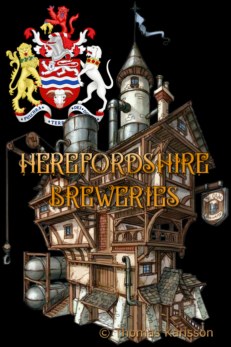 Herefordshire Breweries [© Illustration by Thomas Karlsson]