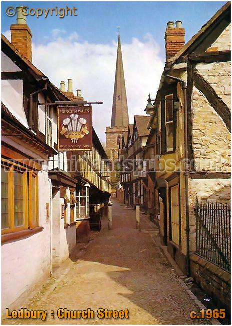 Ledbury : Church Street [c.1965]