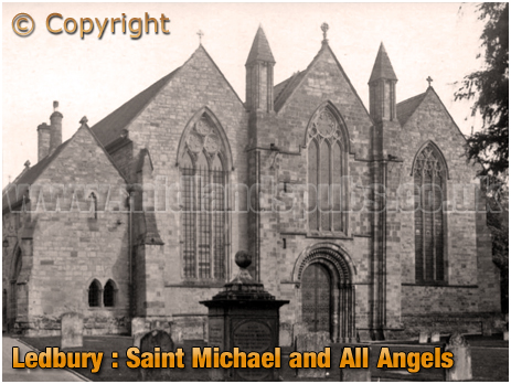 Ledbury : Saint Michael and All Angels Church [c.1920]