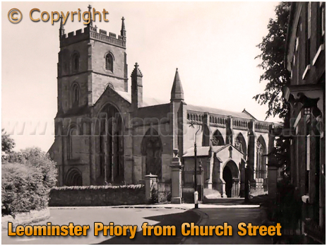 Leominster : Priory from Church Street [c.1935]
