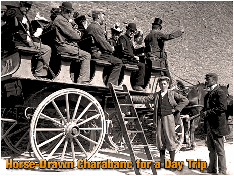 Horse-drawn Charabanc for Victorian day trip