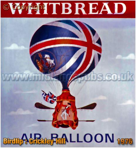 Birdlip : Inn Sign of The Air Balloon [1976]
