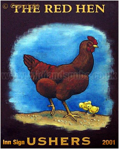 Cradley Heath : Inn Sign of the Red Hen [2001]