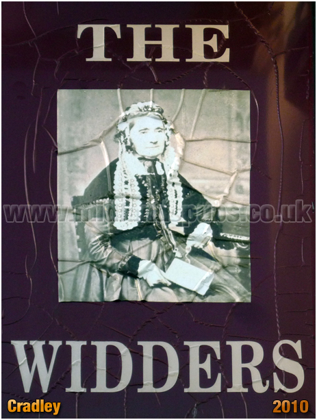 Inn Sign of The Widders at Cradley [2010]
