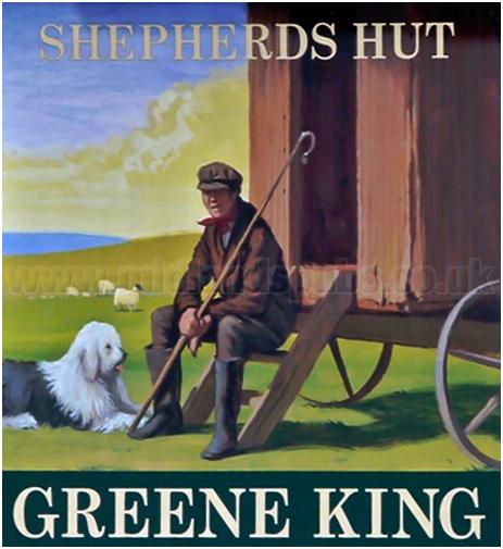 Ewelme : Inn Sign of the Shepherd's Hut [2013]