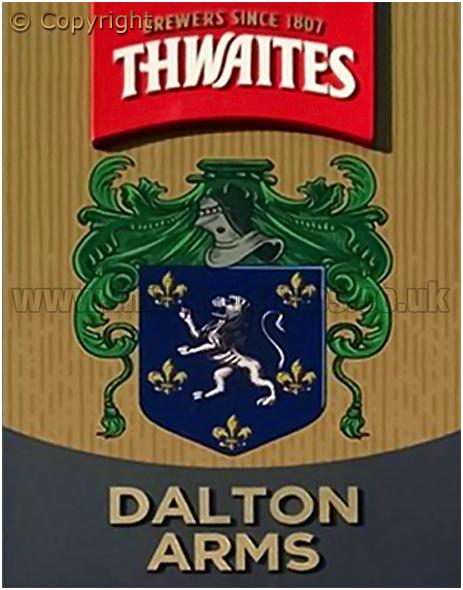 Glasson Dock : Inn Sign of the Dalton Arms [2017]