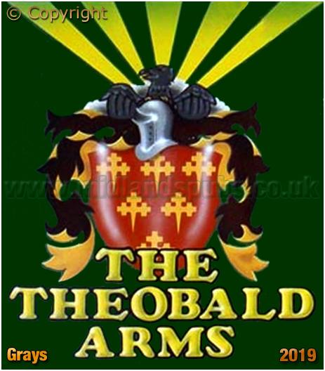 Grays : Inn Sign of the Theobald Arms [2019]