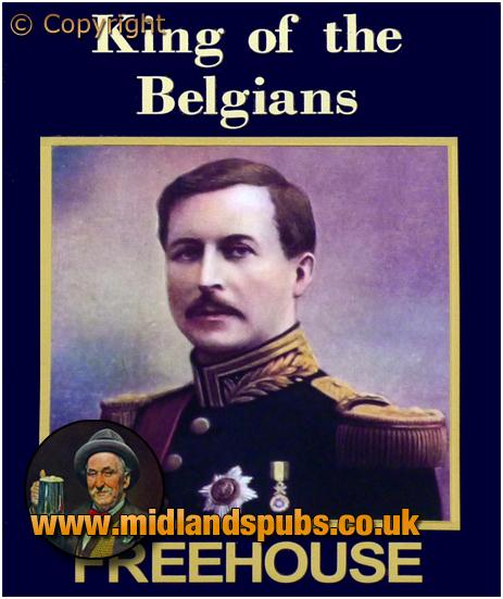Hartford : Inn Sign of the King Of The Belgians [2014]
